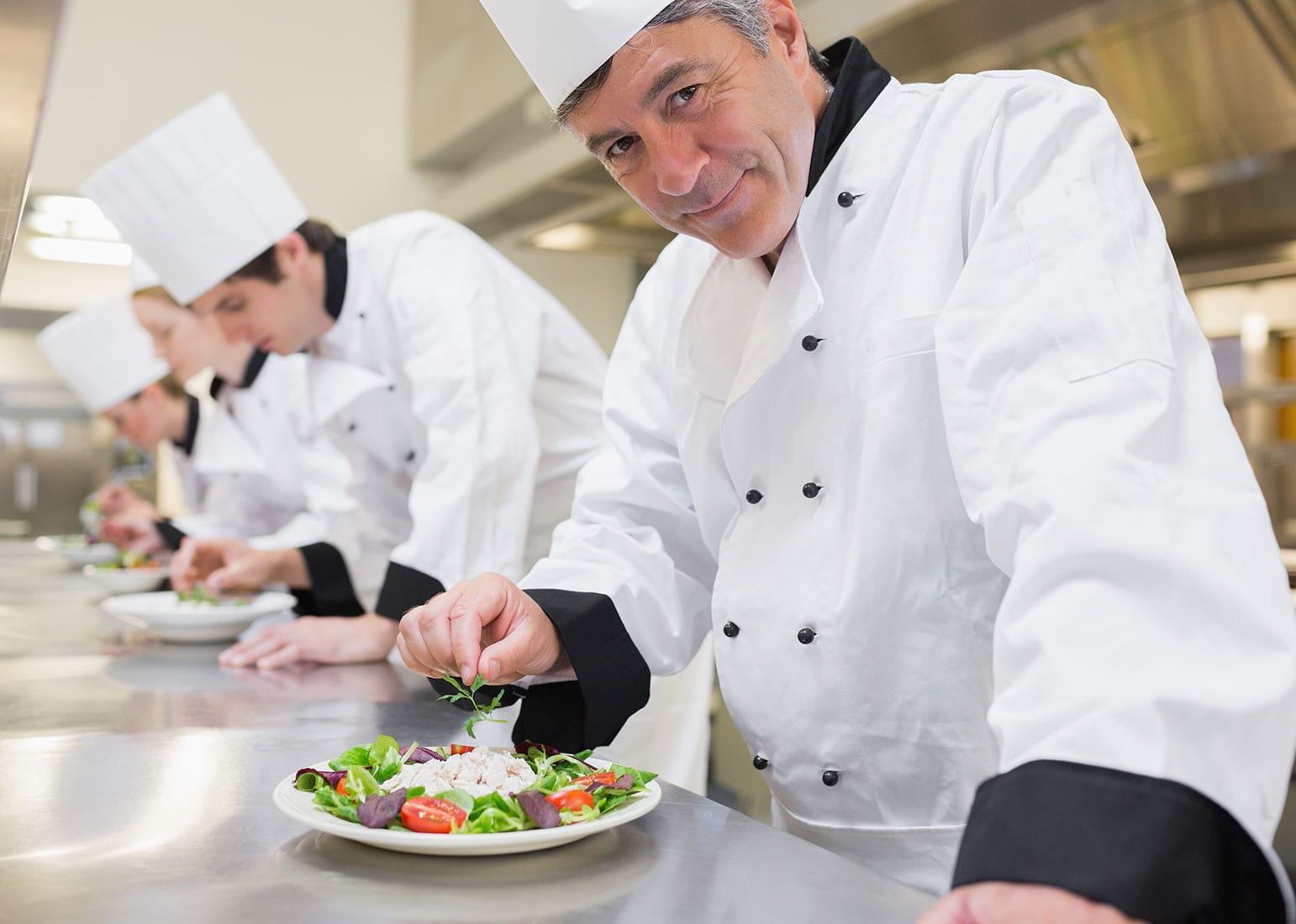 Chef from our facility