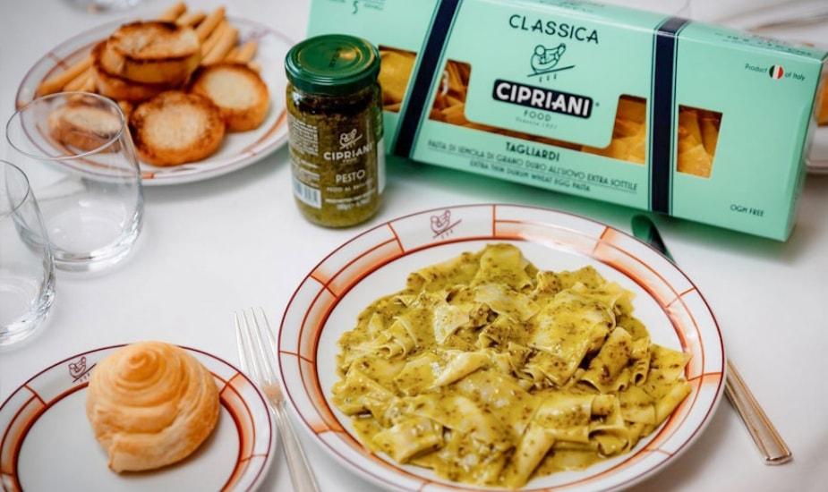 Cipriani Pasta Italy