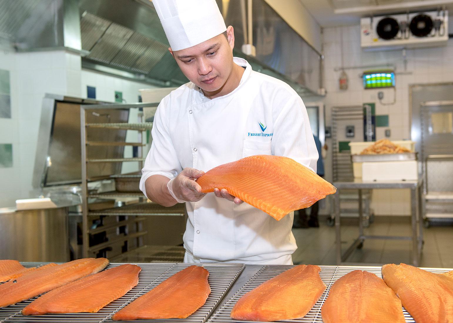 Sea Food service