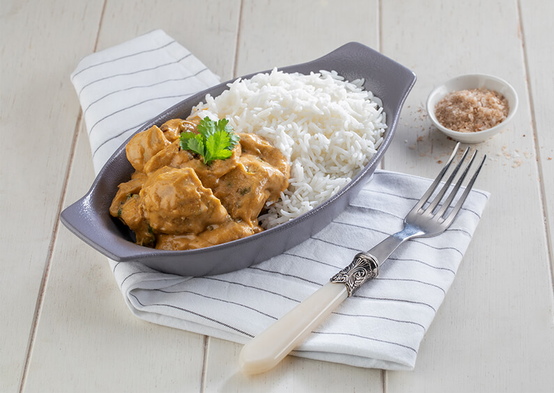Chicken Korma and Rice - Ready Meals